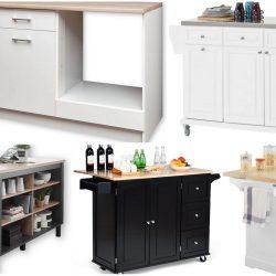 Küchenblock mit Arbeitsplatte freistehend – Top 5