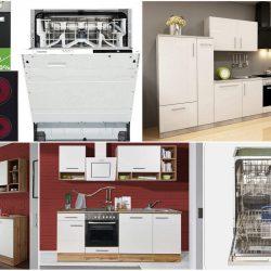 Küchenblock mit E-Geräten komplett